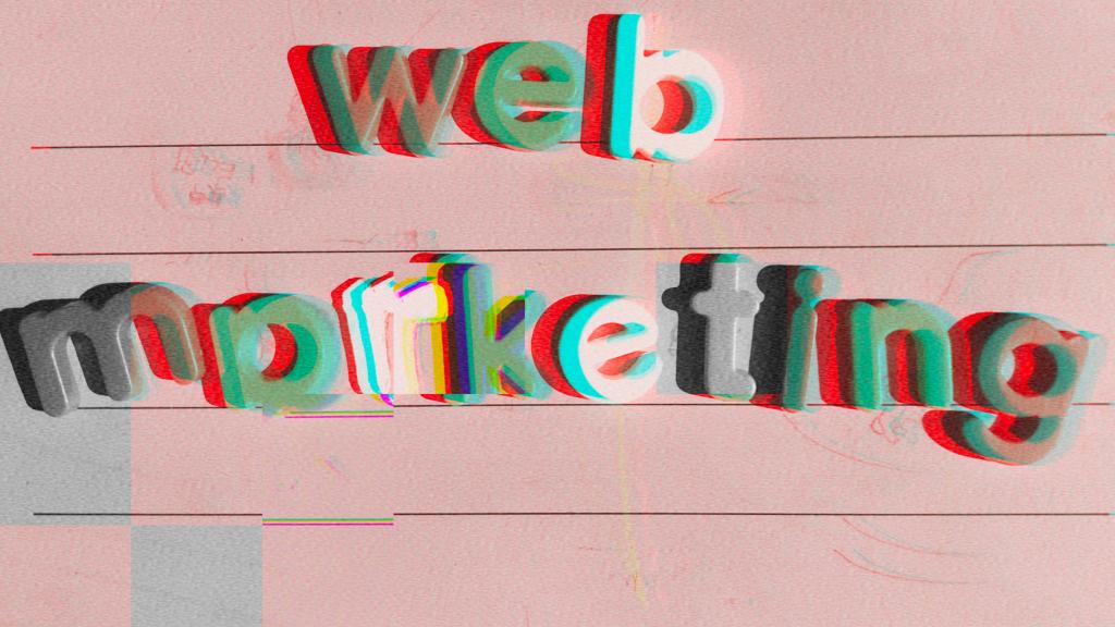 scritta web marketing