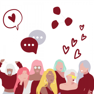 immagine grafica simboli social