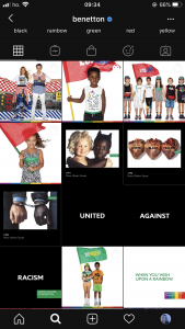 feed benetton instagram